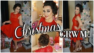 GET READY WITH ME FOR CHRISTMAS!