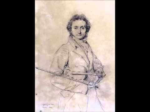 """Paganini Caprice No. 14 E-flat major, """"Marcia"""", Jochen Brusch, violin"""