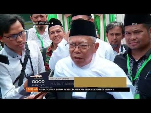 Ma'ruf Amin Siap Jadi Pendamping Jokowi Di Pilpres 2019
