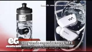 Sony vende reproductores MP3 sumergidos en agua @elgolfoveracruz #Tecnología