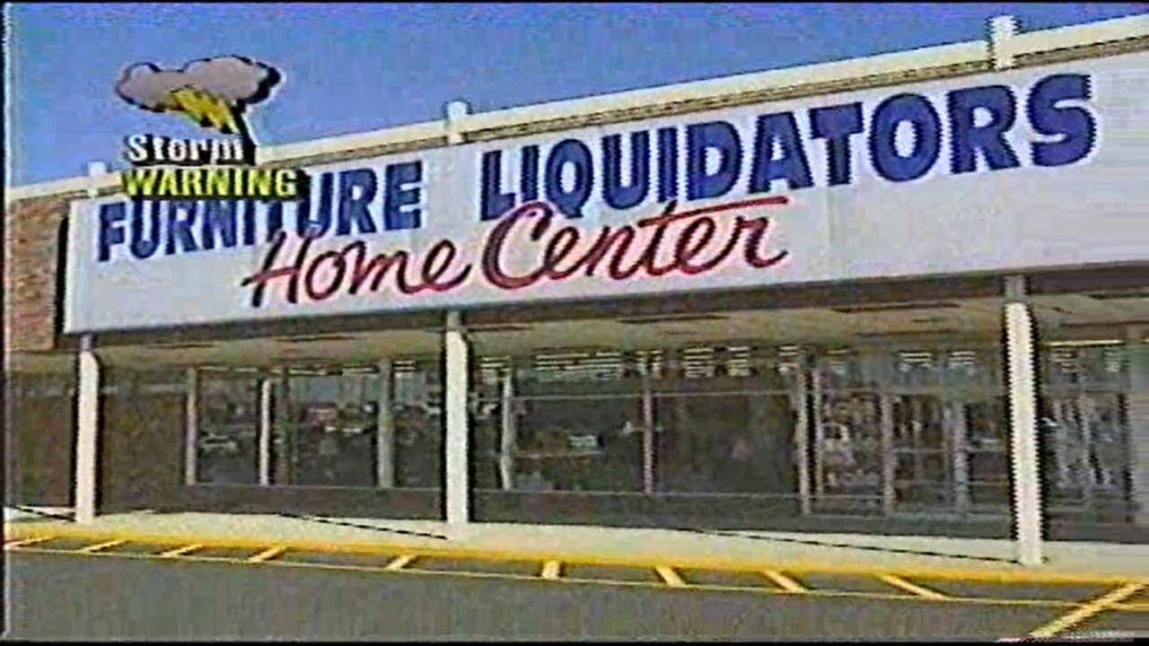 Furniture Liquidators Home Center U0027May Price Is Right Saleu0027 Commercial  (1995)