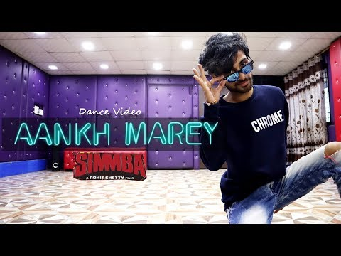 SIMMBA - AANKH MAREY Dance Video | Ranveer Singh | Neha Kakkar | Cover by Ajay Poptron