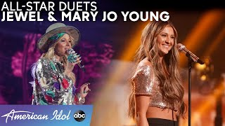 "DUET! ""Foolish Games"" by Jewel & Mary Jo Young + A ""Castle On The Hill"" Cover - American Idol 2021"
