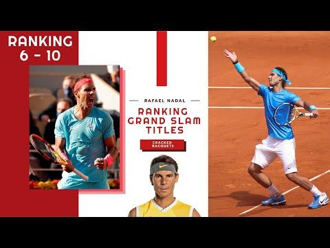 Rafael Nadal: 20 Grand Slam Victories Ranked (10 - 6)