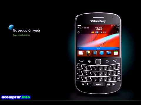 Como utilizar el Blackberry Bold 9900 y 9930 Paso a Paso en español latino