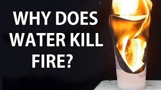 How does water put out fire?