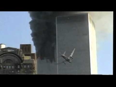 Plane Entry of World Trade Center (SLOW MOTION)