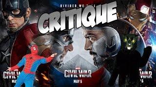 Critique Captain America : Civil War (Spoilers !)