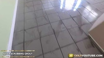 25 Years Of Build Up | Tile & Grout Cleaning Downtown Sacramento CA