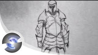 How to Draw Medieval Armour