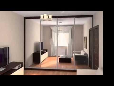 Шкаф купе в гостиную: фото, дизайн, идеи 54