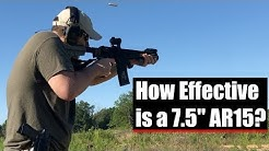 How Effective is a 7.5 Inch AR-15?