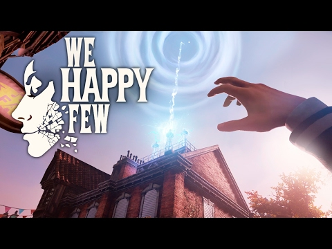 We Happy Few - ESCAPE FROM WELLINGTON WELLS?! - #9 (Season 2) - We Happy Few Gameplay