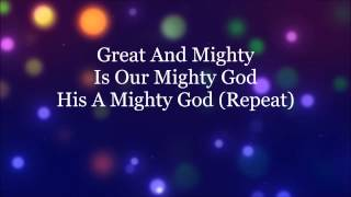 Great And Mighty HD Lyrics Video By Donnie McClurkin