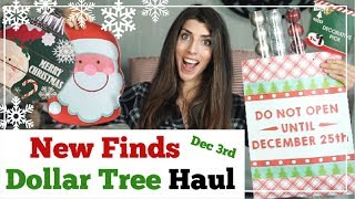 DOLLAR TREE HAUL   NEW Christmas Finds, December 2018   Momma From Scratch