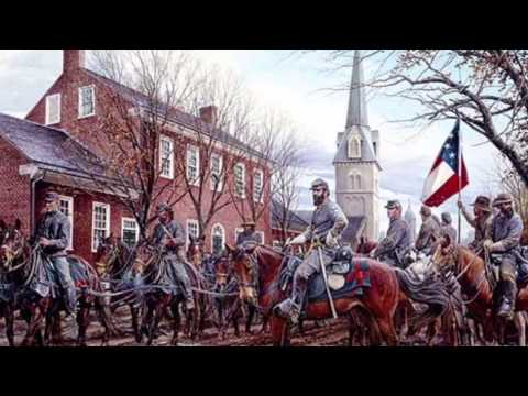 Riding a Raid  (Confederate Cavalry Song)