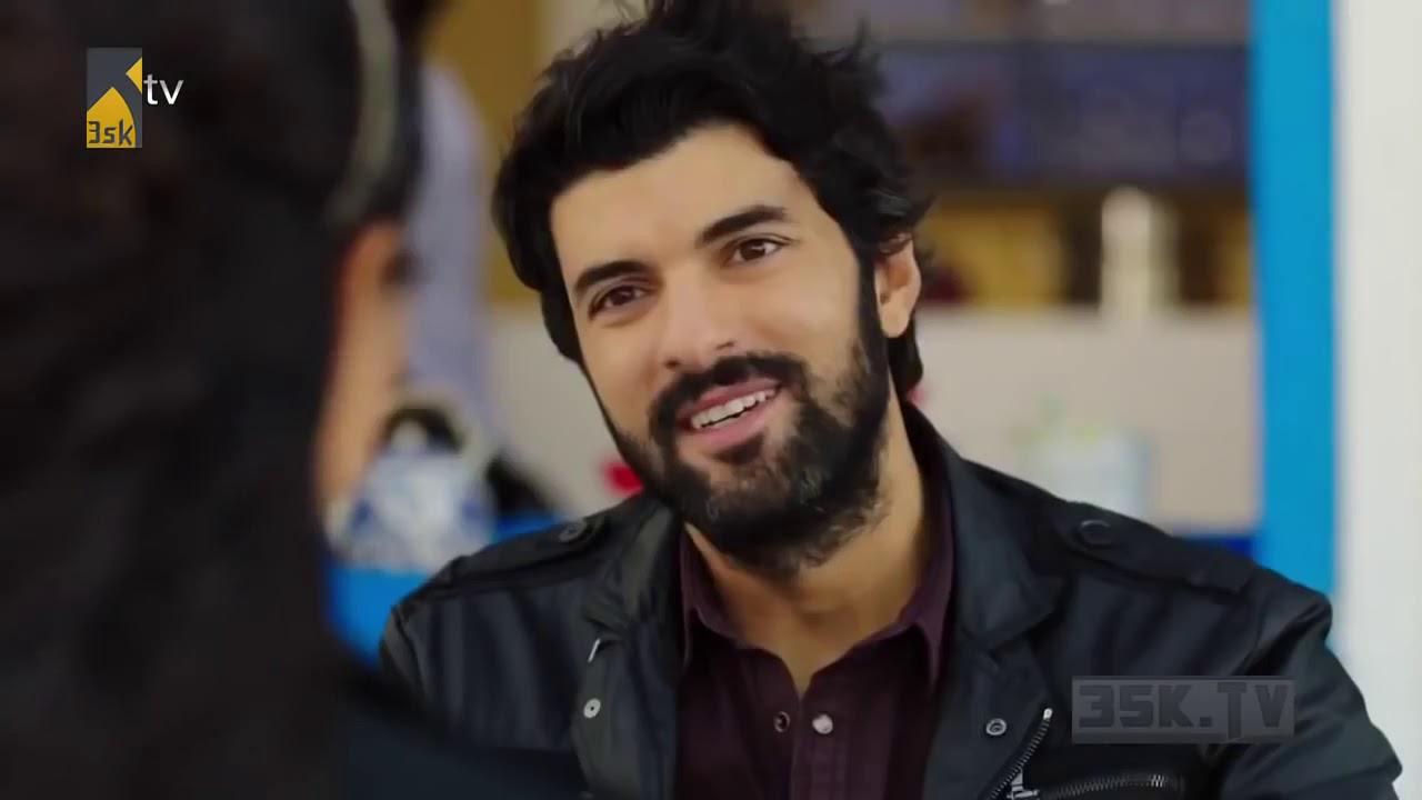 أجمل مشهد رومنسي  بين عمر وإيليف   مسلسل العشق الاسود HD
