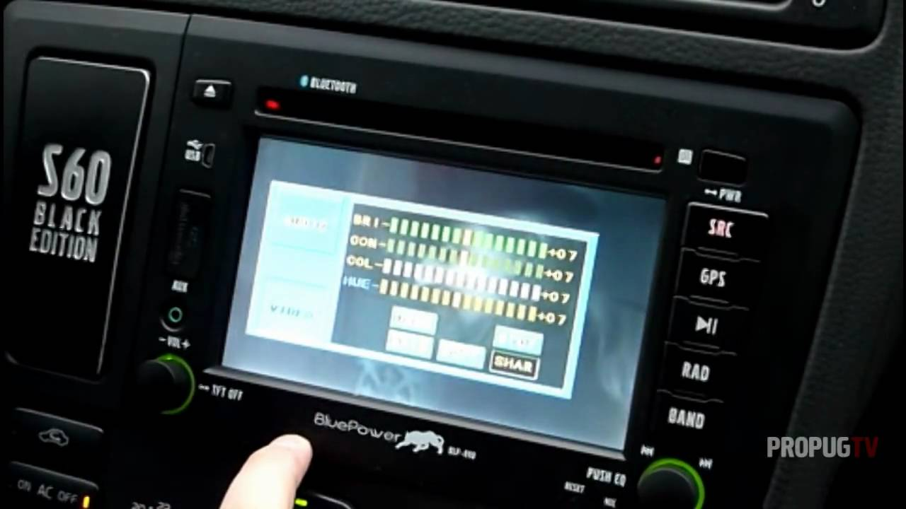 Gx F Bluepower Headunit For Volvo S60 V70 Youtube