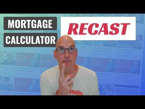 mortgage-recast-calculator