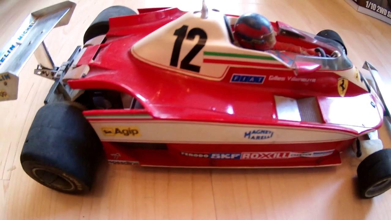 Tamiya RC 1:10 Ferrari 312 T3 Gilles Villeneuve - YouTube