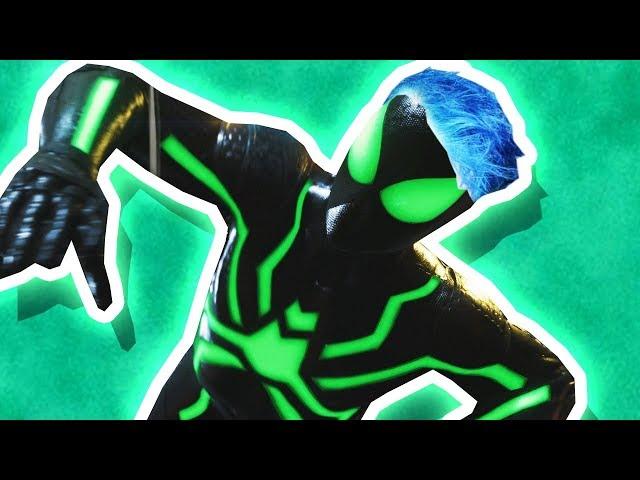 GREEN Spider-Man! (Spiderman PS4 #7)