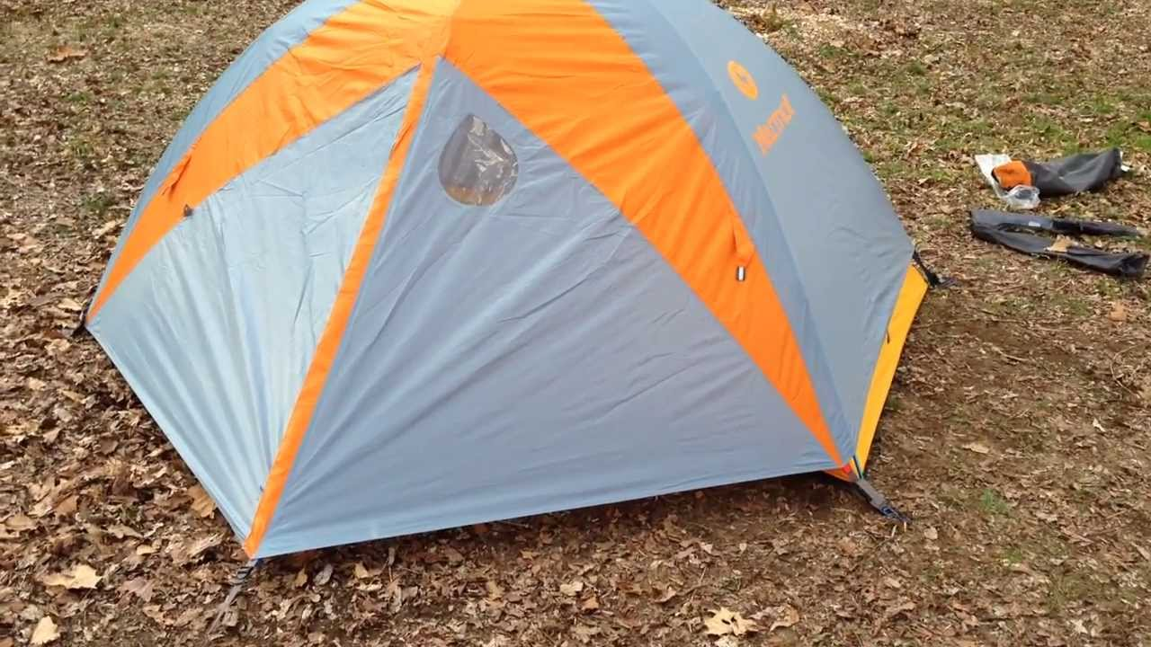 & Marmot Limelight 2 Tent Review - Rainfly On - YouTube