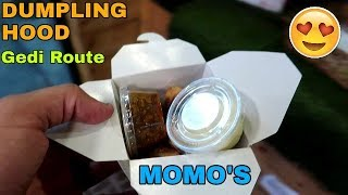 MOMOS | Chandigarh | Street Food | Dumpling Hood | Gedi Route | VBO Vlogs | 2018