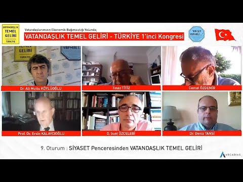 SİYASET Penceresinden VATANDAŞLIK TEMEL GELİRİ / VTG - TÜRKİYE 1'inci Kongresi