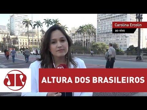 Brasileiro cresce em altura nos últimos 100 anos | Jornal da Manhã | Jovem Pan