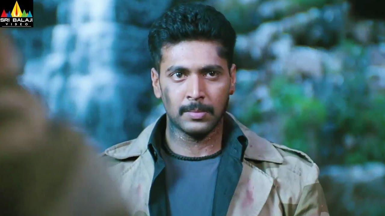Download Ranadheera Movie Jayam Ravi Action Scene | Telugu Movie Scenes  | Sri Balaji Video