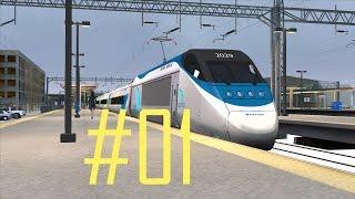 Train Simulator 2015 | New York - New Haven | Acela #01