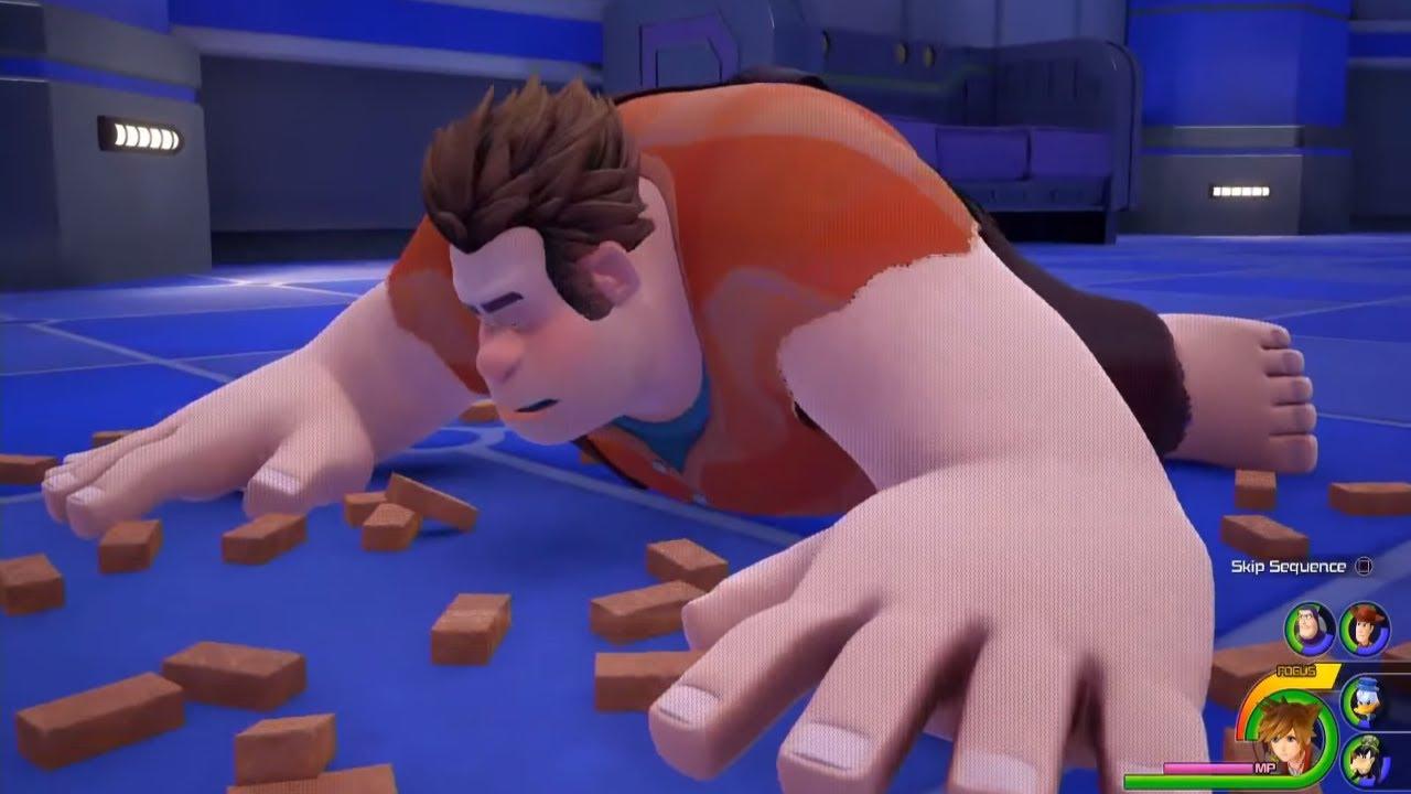 Kingdom Hearts 3 -Wreck-it Ralph -Toy Story World & Titan ... Wreck It Ralph Trailer Toy Story