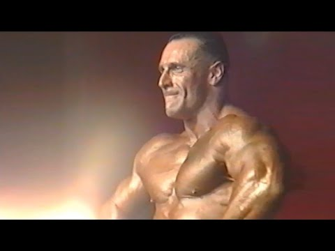 Chris Wall (UK), NABBA Worlds 2001
