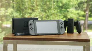 Nintendo Switch Gray with Splatoon 2 and Accessories on QVC
