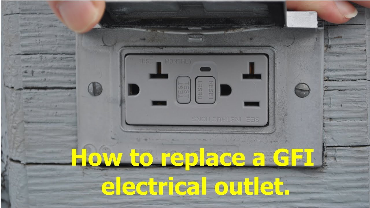 Removing The Old Gfi Gfci Outlet