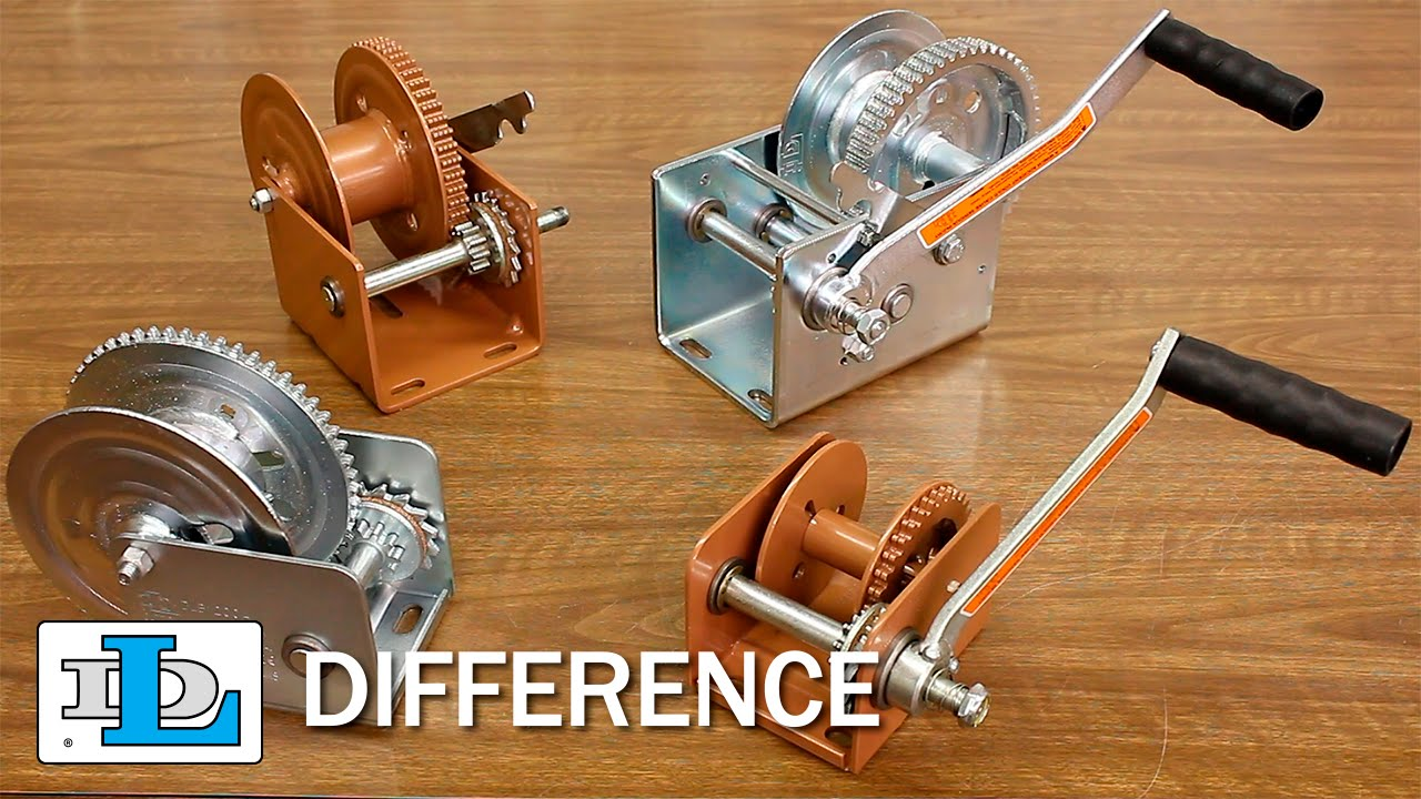 Brake Winches Short Version Dl Difference Youtube