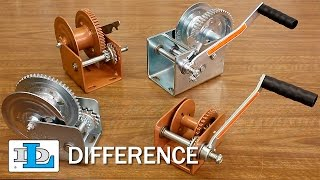 Brake Winches - Short Version - DL Difference