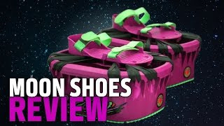 Trampolines for your Feet! Moon Shoes Review