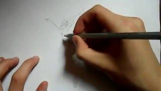 Видео: как нарисовать балерину?(обучающее видео по рисованию балерины простым карандашом поэтапно для начинающих., 2015-12-27T16:10:59.000Z)