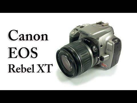 Canon REBEL XT digital DLSR camera 18-55 mm EOS lens