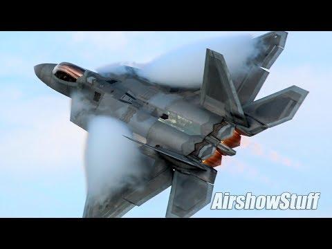 F-22 Raptor Afterburner