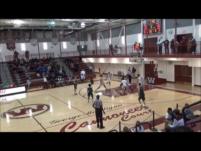 Game Highlights Boys' Varsity: Schalmont 51 vs Watervliet 63 (F)