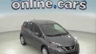 G97592NC Used 2018 Nissan Versa Note SV Hatchback Gray Test Drive, Review, For Sale