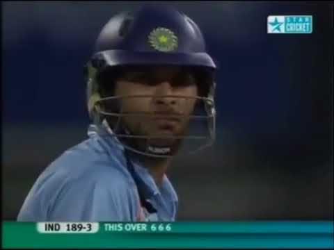 Yuvraj Singh 6 Sixes In 6 Balls HD 1080p