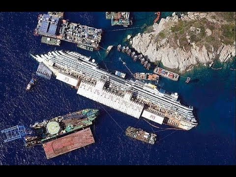 Sunken Ship Rescue (Costa Concordia) - Biggest Maritime Rescue - World Documentary Films