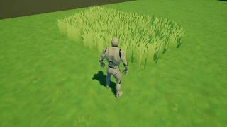 Advanced cinematic grass blueprint