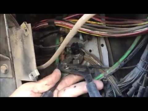 How To Replace Brake Light Switch, Air Commercial Truck