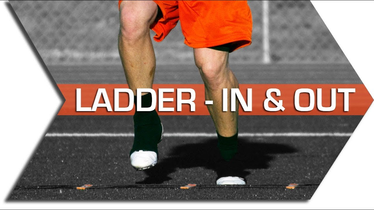 IN & OUT - AGILITY LADDER - FOOTWORK, QUICKNESS & SPEED ...