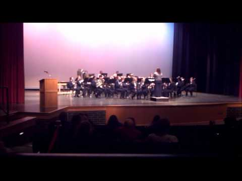 Pine River High School Concert Band 2012 MSBOA Festival