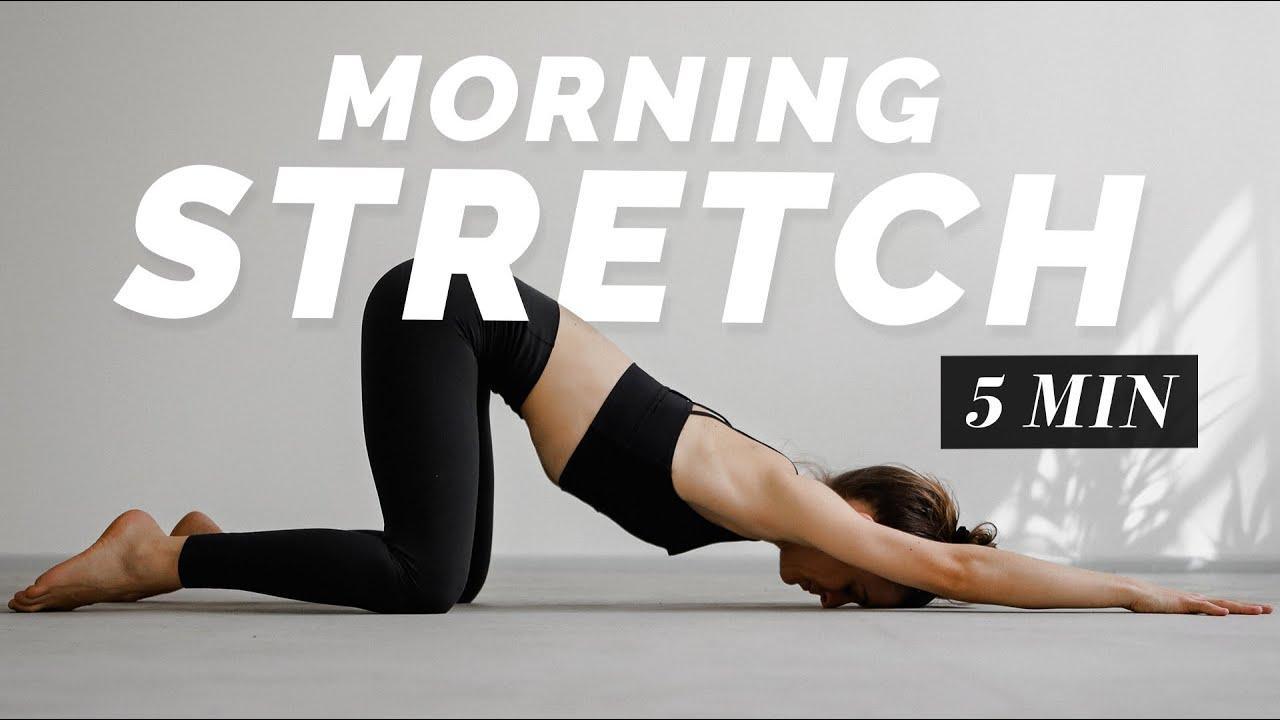 5 Min. Morning Stretch | Full Body Flexibility Routine for Beginner